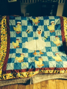 My mom made this quilt. I did not get this gene.